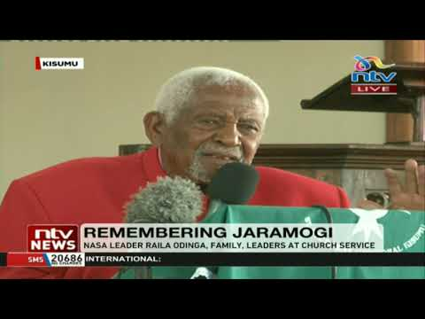25th memorial anniversary of the late Jaramogi Oginga Odinga at St. Stevens cathedral