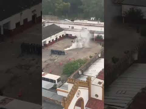 Así entrena la Policía bonaerense para reprimir todo tipo de manifestaciones