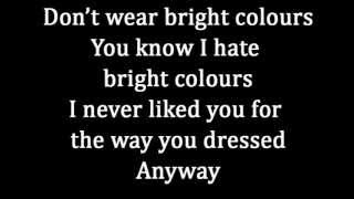 Franz Ferdinand - Goodbye lovers & friends (lyrics)