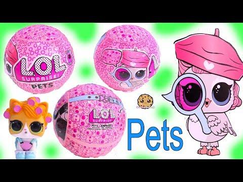 LOL Surprise PETS ! NEW Animal Eye Spy Blind Bag Balls + Freebie