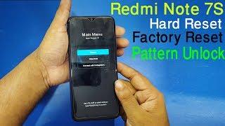 Mi Redmi Note 7S / Redmi 7 Hard reset / pattern unlock 100% solve