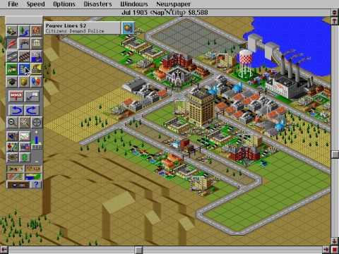 SimCity 2000 Had Some Weirdo Music, Man