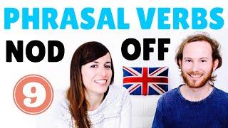 Aprende inglés online - Phrasal Verbs 9 - NOD OFF
