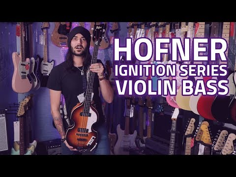 Hofner Ignition Series Violin Bass – The Beatles Sound!