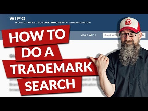 How to do a registered trademark search with the WIPO Global Brand Database