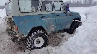 УАЗ V8 с мотором газ 53