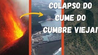 Colapso parcial do cume do vulcão Cumbre Vieja   Quais os riscos?