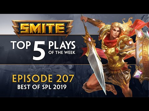 Top plays from SMITE eSports