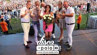 Angelika i Mariusz zaręczyli się na koncercie zespołu Mig (Disco-Polo.info)