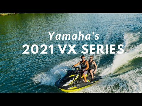 2021 Yamaha VX Deluxe in Metuchen, New Jersey - Video 1