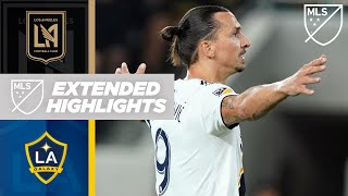 LAFC 3-3 LA Galaxy | Zlatan Gets a Brace! | HIGHLIGHTS
