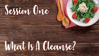 Session 1 What Is A Cleanse?  with Dr. Fred Bisci