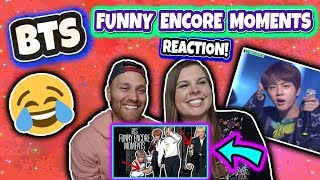 BTS  FUNNY ENCORE MOMENTS Reaction