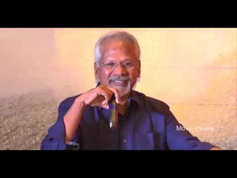 Mani Ratnam Speech at Cheliyaa Audio Launch