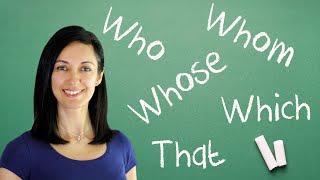 Relative Pronouns & Clauses - English Grammar Lesson