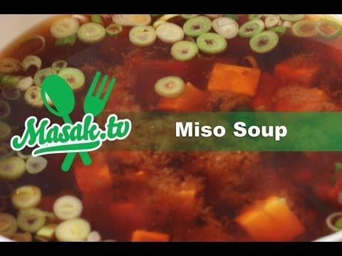 Video Miso Soup Jepang | Resep #026