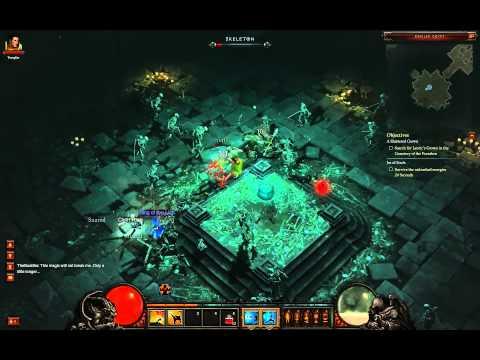 Diablo III's Monk Class Looks Like a Massacre