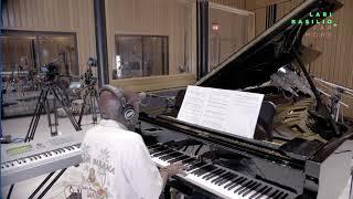 """Greg Phillinganes recording """"Redeemed"""" from Lari Basilio's album: Far More."""