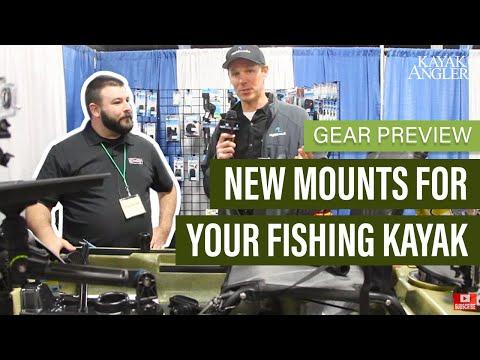 New Mounts for Your Fishing Kayak