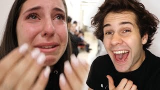 SHE WAS CRYING BECAUSE OF THIS!!