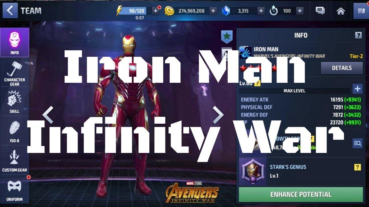 รีวิว Iron Man ยู Infinity War