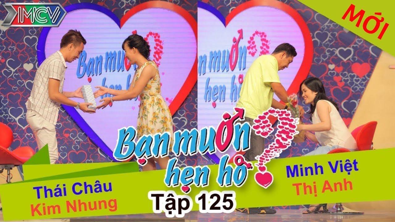 BẠN MUỐN HẸN HÒ #125 UNCUT | Minh Việt - Nguyễn Anh | Thái Châu - Kim Nhung | 201215 💖