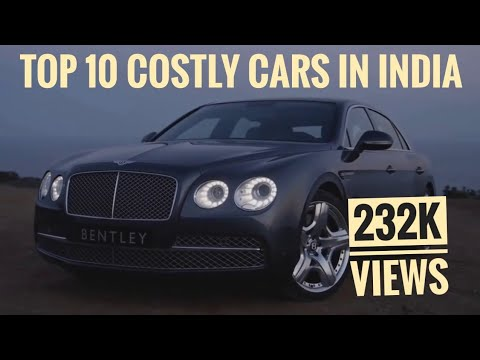 TOP 10 COSTLY CARS In INDIA