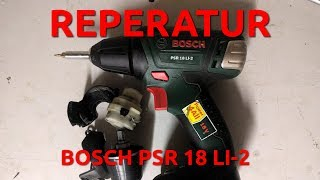 Reperatur BOSCH PSR18 LI-2