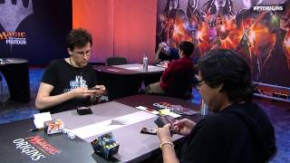 Pro Tour Magic Origins Round 14 (Standard): Eric Froehlich vs. Andrew Cuneo