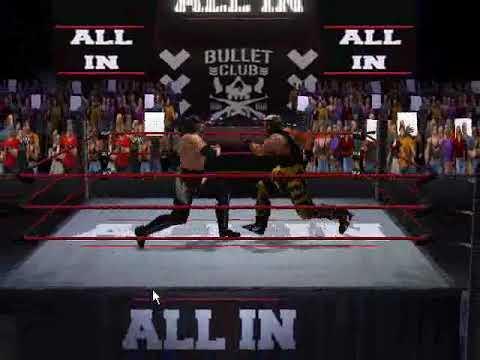 All Elite Wrestling Video Game using AKI No Mercy Game