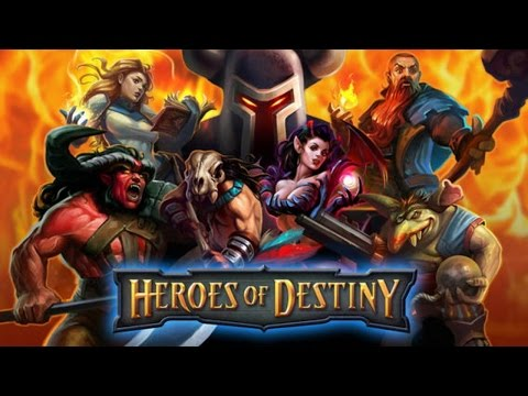 HEROES OF DESTINY ANDROID GAMEPLAY