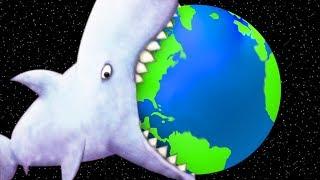 GIANT SHARK EATS THE EARTH - Tasty Blue Ending | Pungence