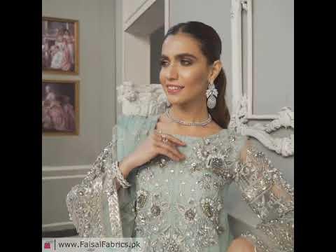 Akbar Aslam Libas e Khas Wedding Collection 3pc Suit AAWC-1327 PHLOX