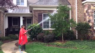 Pressure Washing in Raleigh – Durham NC by ProGreen Carpet