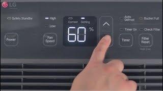 LG Dehumidifier - General Usage