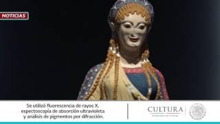 El Color de los Dioses. Policromía en la antigüedad clásica y mesoamericana. Exposición