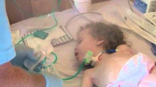 Saving Little Lily Update...How To Change A Tracheostomy Tube