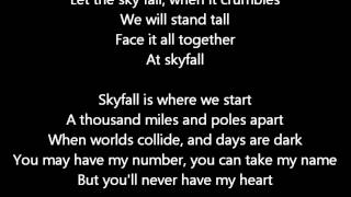 Adele - Skyfall Lyrics