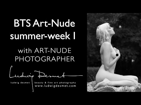 Art-Nude workshop behind the scenes - part I