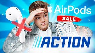 ich teste den AirPod Fake von ACTION...