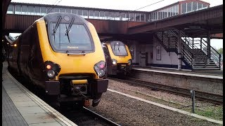 preview picture of video 'Trains at York railway station, UK | 30/10/2014'