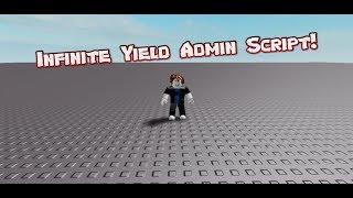 roblox admin script infinite yield - TH-Clip