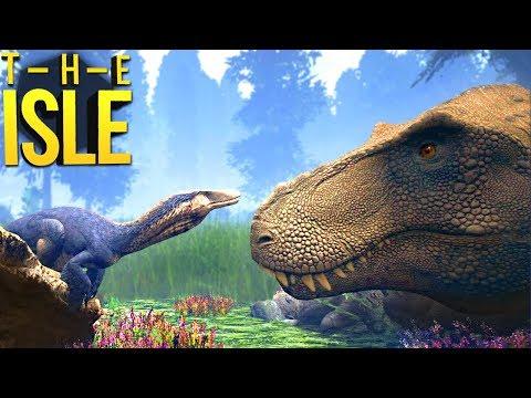 The Isle - Meu Amigo Tiranossauro Rex, Voltando As Antigas! | Dinossauros (#244) (PT-BR)