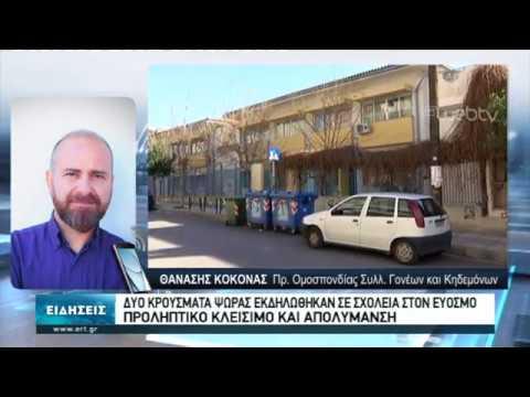 Δυο κρούσματα ψώρας εκδηλώθηκαν σε σχολεία στον Εύοσμο | 13/2/2020 | ΕΡΤ