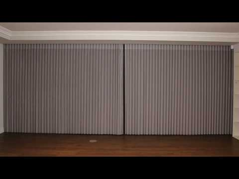 Sheer Curtain Blind (Motorised) - Product Demo