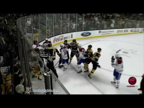 David Krejci vs. Benoit Pouliot