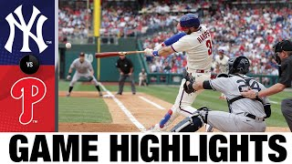 يانكيز ضد فيليز أبرز أحداث لعبة (21/6/21)   يسلط الضوء على MLB