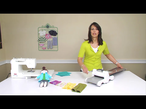 From the Sizzix Quilting Workshop: Making On-Trend Doll Pants with Kerry Goulder