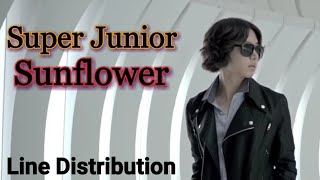 Super Junior - Sunflower (Line Distribution)