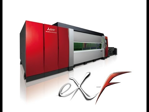 MITSUBISHI 2 Dimensional Fiber Laser Processing Systems eX F Series - zdjęcie
